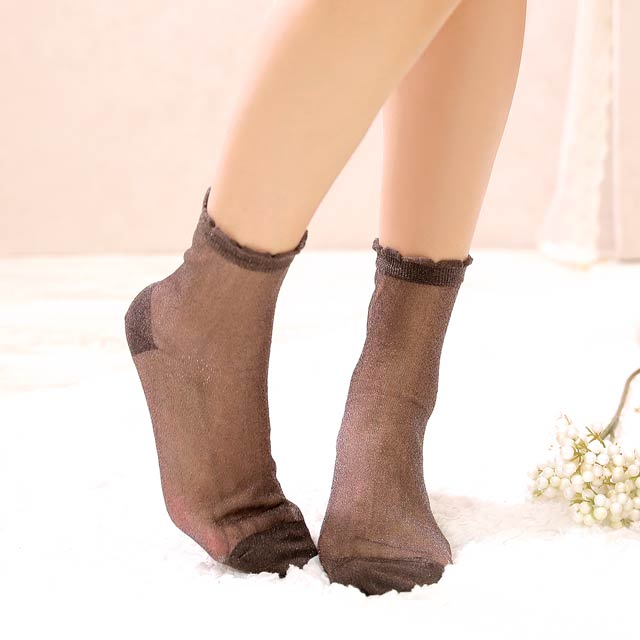 【明日花キララ着用/WhipBunny】Simple lame Socks シンプルラメソックス