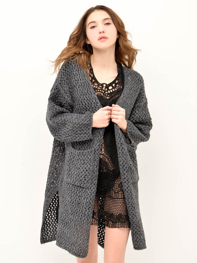 【SALE50%OFF】[CARRIEFRANCA]Half sleeve cardigan